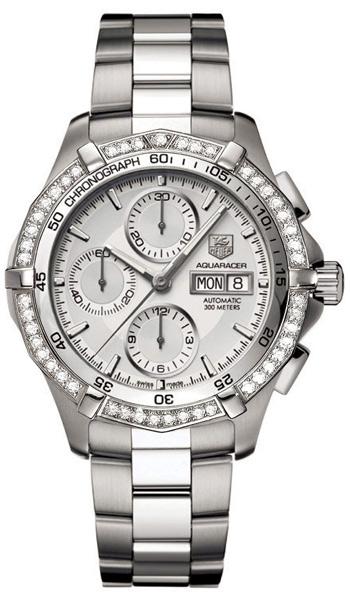 tag heuer aquaracer automatic diamonds men s watch model caf2015 tag heuer aquaracer automatic diamonds men s watch