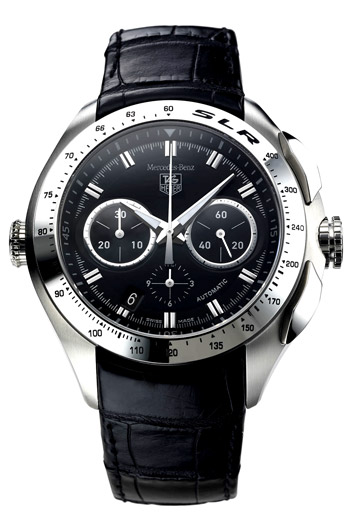 Tag heuer slr for mercedes benz limited men 39 s watch model for Mercedes benz tag heuer watch