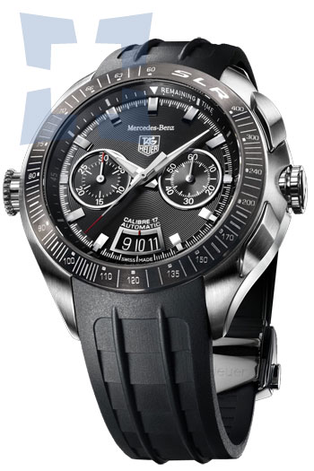 Tag heuer slr for mercedes benz limited ii men 39 s watch for Mercedes benz tag heuer watch