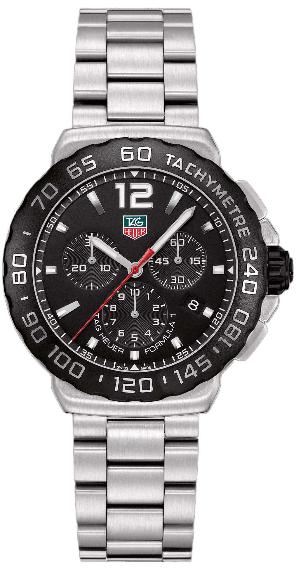 tag heuer formula 1 chronograph 42mm men s watch model cau1110 ba0858 tag heuer formula 1 chronograph 42mm men s watch