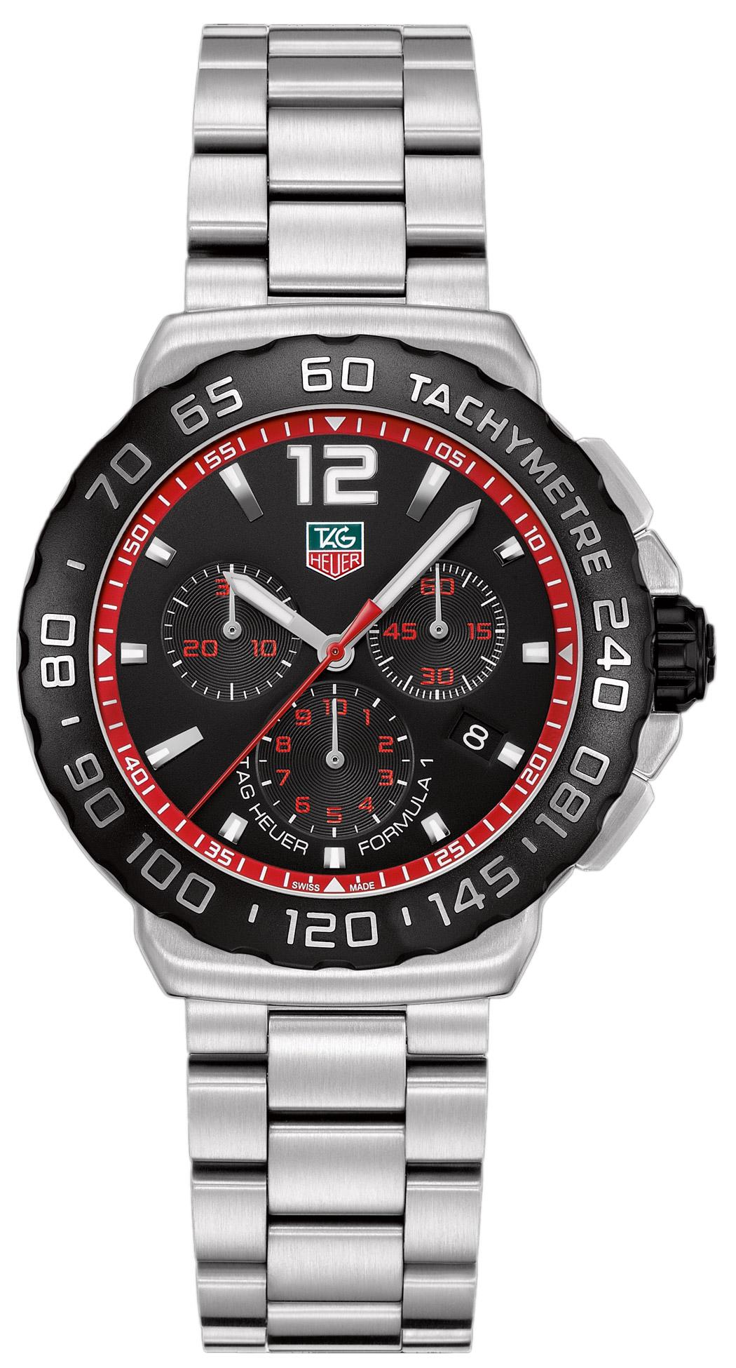 4664a6c13fbd4 Tag Heuer Formula 1 Chronograph 42mm Men s Watch Model  CAU1116.BA0858