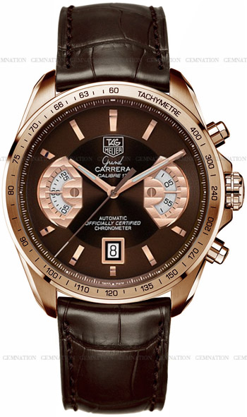 Tag Heuer Grand Carrera Men's Watch Model CAV514C.FC8171