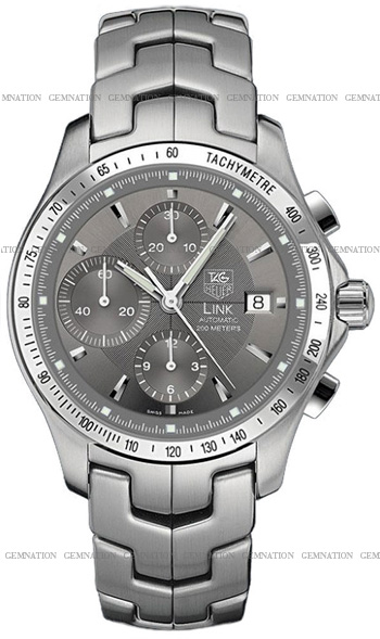 Tag Heuer Link Automatic Chronograph Mens Wristwatch Model: CJF2115.BA0594