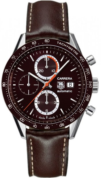 Tag Heuer Carrera Automatic Chronograph Mens Wristwatch Model: CV2013.FC6234