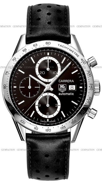 Tag Heuer Carrera Automatic Chronograph Mens Wristwatch Model: CV2016.FC6233