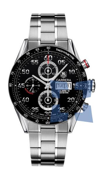 8f2a7092cc01c Tag Heuer Carrera Automatic Chronograph Men s Watch Model  CV2A10.BA0796