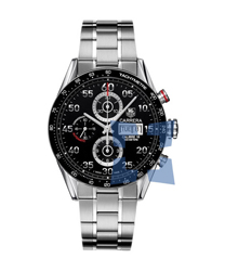 Tag Heuer Carrera Mens Wristwatch Model: CV2A10.BA0796