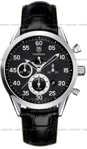 Tag Heuer Carrera Calibre 360 Working Chronographwith Black Dial