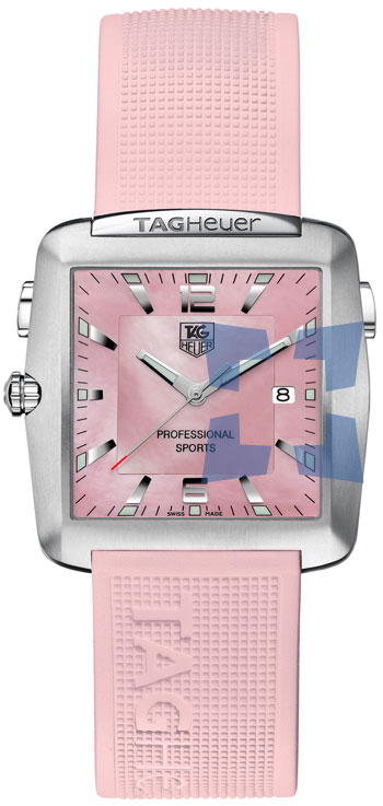 Tag Heuer Professional Sports Ladies Wristwatch Model: WAE1114.FT6011