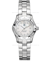 Tag Heuer Aquaracer Ladies Wristwatch Model: WAF1415.BA0824