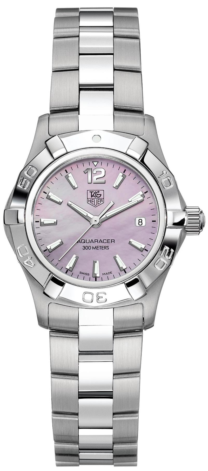 Tag heuer aquaracer 27mm ladies watch model waf1418 ba0823 for Tag heuer women