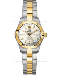 Tag Heuer Aquaracer Ladies Wristwatch Model: WAF1424.BB0825