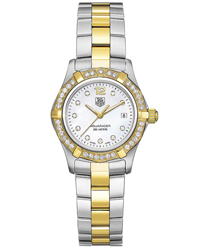 Tag Heuer Aquaracer Ladies Wristwatch Model: WAF1450.BB0825