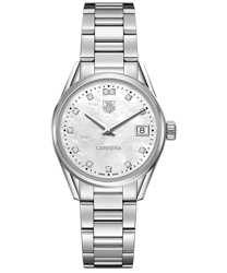 Tag Heuer Carrera Ladies Watch Model WAR1314.BA0773