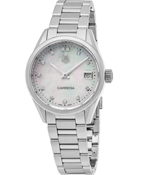 Tag Heuer Carrera Ladies Watch Model WAR1314.BA0778