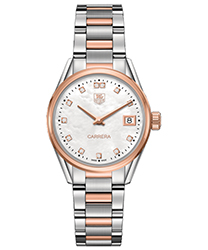 Tag Heuer Carrera Ladies Watch Model WAR1352.BD0779