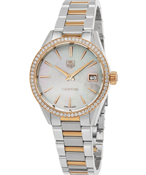 Tag Heuer Carrera Ladies Watch Model WAR1353.BD0779