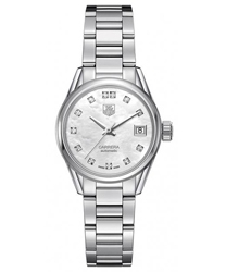 Tag Heuer Carrera Ladies Watch Model WAR2414.BA0770