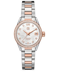 Tag Heuer Carrera Ladies Watch Model WAR2453.BD0772