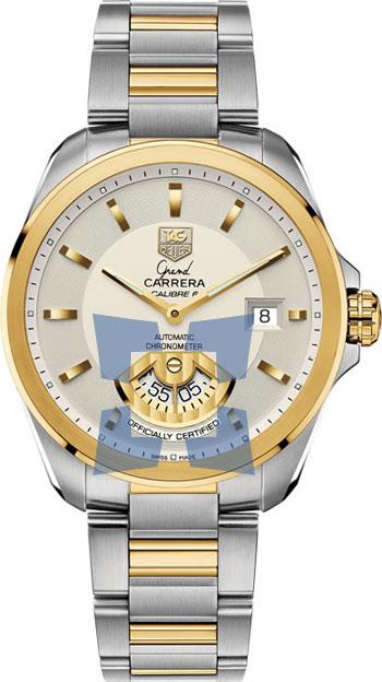 423638d48ef Tag Heuer Grand Carrera Automatic Calibre 6 RS Men's Watch Model  WAV515B.BD0903