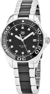 Tag Heuer Aquaracer Ladies Watch Model WAY131C.BA0913