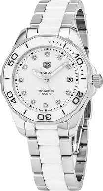 Tag Heuer Aquaracer Ladies Watch Model WAY131D.BA0914