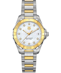 Tag Heuer Aquaracer Ladies Watch Model WAY1351.BD0917