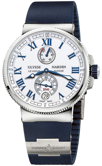 Ulysse Nardin Marine Chronometer Men's Watch Model 1183-126-3.40