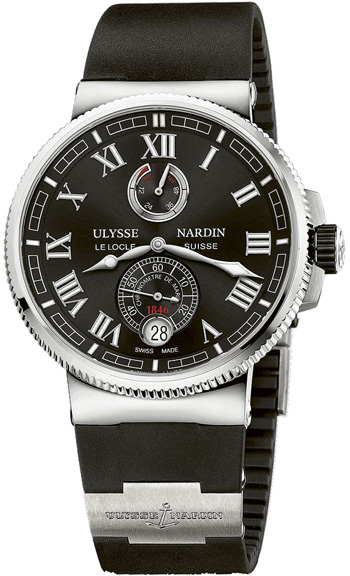 Ulysse Nardin Marine Chronometer Men's Watch Model 1183-126-3.42