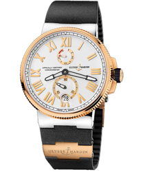 Ulysse Nardin Marine Chronometer Manufacture   Model: 1185-122-3-41