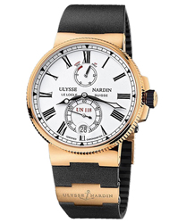 Ulysse Nardin Marine Chronometer Manufacture Men's Watch Model 1186-122-3.40