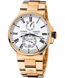Ulysse Nardin Marine Chronometer Manufacture Men's Watch Model 1186-122-8M.40