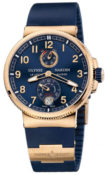 Ulysse Nardin Marine Chronometer Men's Watch Model 1186-126-3.63