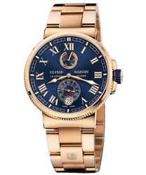 Ulysse Nardin Marine Chronometer Manufacture Mens Wristwatch