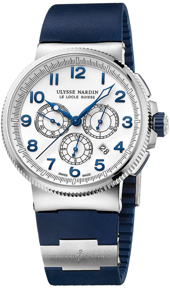 Ulysse Nardin Marine Chronograph Men's Watch Model 1503-150-3.60