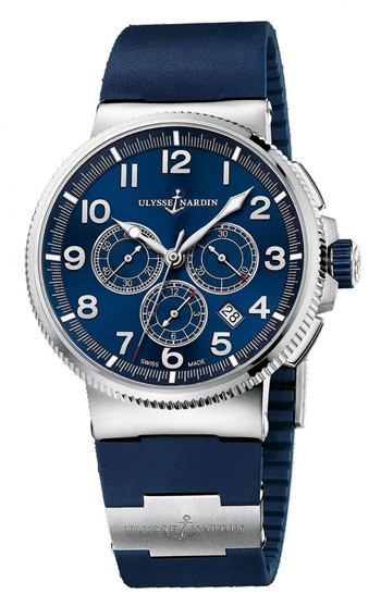 Ulysse Nardin Marine Chronograph Men's Watch Model 1503-150-3.63