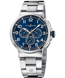Ulysse Nardin Marine Chronograph Men's Watch Model 1503-150-7M.63