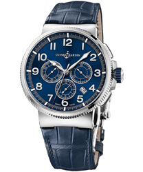 Ulysse Nardin Marine Chronograph Manufacture Men's Watch Model: 1503-150.63