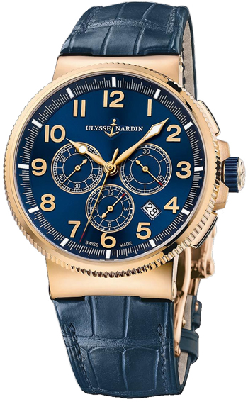 Ulysse Nardin Marine Chronograph Men's Watch Model 1506-150.63