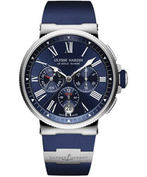 Ulysse Nardin Marine  Men's Watch Model: 1533-150-3-43