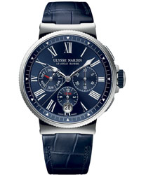 Ulysse Nardin Marine  Men's Watch Model: 1533-150-43