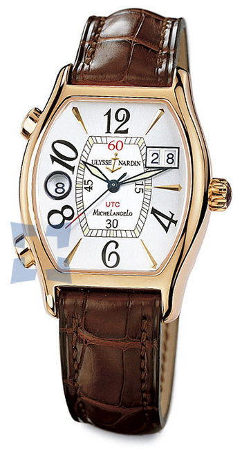 Ulysse Nardin Michelangelo UTC Dual Time Mens Wristwatch Model: 226-68-581