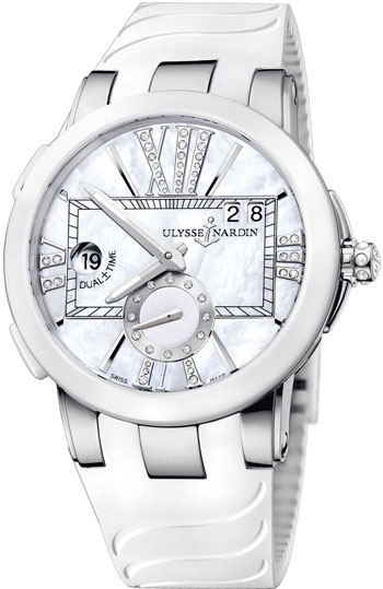 Ulysse Nardin Executive Dual Time Ladies Ladies Wristwatch Model: 243-10-3-391