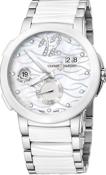 Ulysse Nardin Executive Ladies Watch Model 243-10-7-691