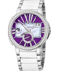 Ulysse Nardin Executive Ladies Wristwatch Model: 243-10B-7-30-07