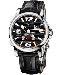 Ulysse Nardin Dual Time Mens Wristwatch Model: 243-55-62