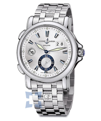 Ulysse Nardin Dual Time Mens Wristwatch Model: 243-55-7-91