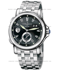 Ulysse Nardin Dual Time Mens Wristwatch Model: 243-55-7-92