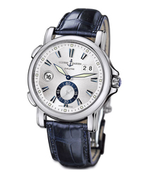 Ulysse Nardin Dual Time Mens Wristwatch Model: 243-55-91