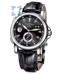 Ulysse Nardin Dual Time Mens Wristwatch Model: 243-55-92